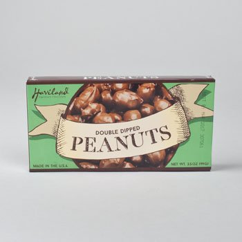 CANDY HAVILAND DOUBLE DIPPED PEANUTS 3.5 OZ THEATER BOX, Case Pack of 12