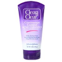 Clean And Clear Continuous Control Acne Cleanser - 5 Oz, 3 Pack Gentle Nourishing Organic Cleanser For Dry & Sensitive Skin - 6.7 fl. oz. by Desert Essence (pack of 6)