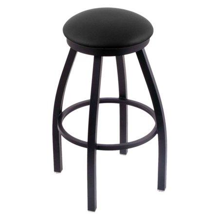 Holland Bar Stool Misha 36 in. Extra Tall Swivel Bar Stool with Faux Leather Seat