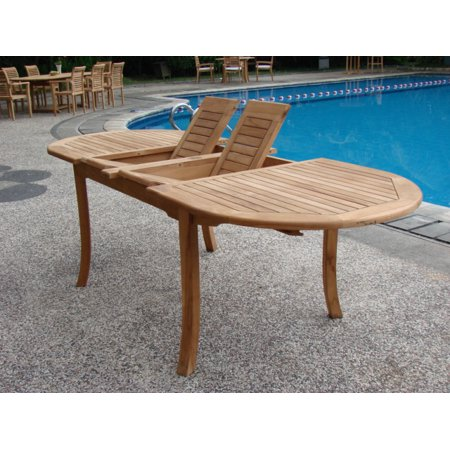 Extension Outdoor Dining Table - Large double extension 94