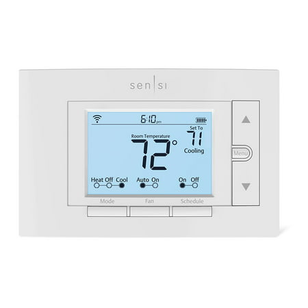 Emerson Sensi ST55 Smart Thermostat (with Touchscreen), No Hub Required