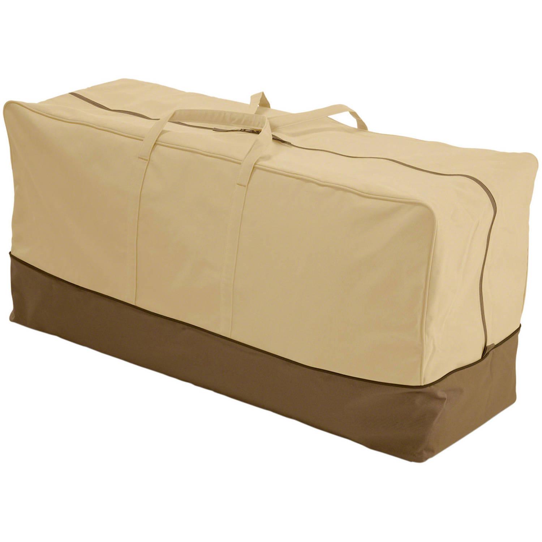 "Classic Accessories Veranda Patio Furniture Cushion Storage Bag, fits up to 45.5""L x 13.75""W"