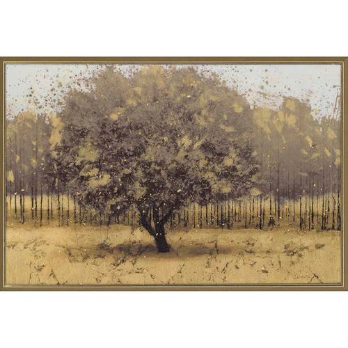 Paragon Golden Trees by Wiens Framed Painting Print