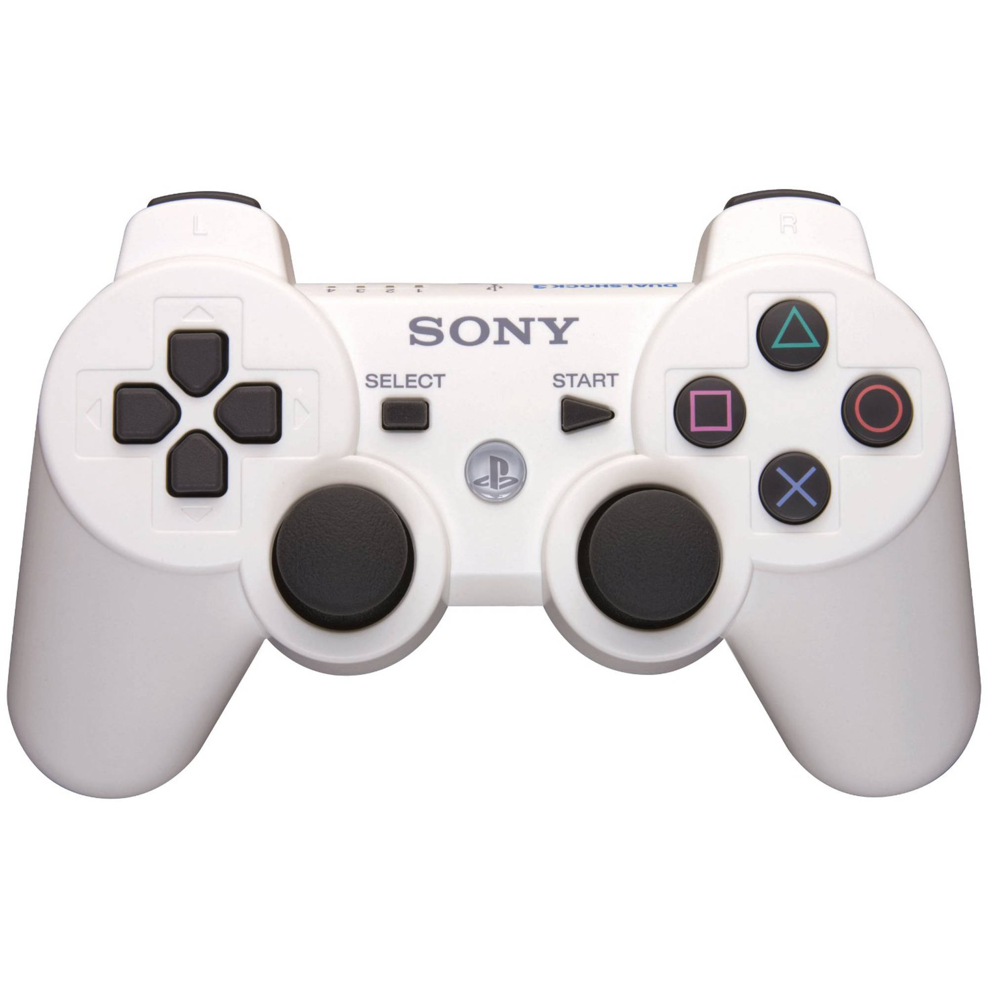 Usb Cable For Ps3 Controller Walmart: Sony Dual Shock 3 - Classic White (PS3) - Walmart.comrh:walmart.com,Design