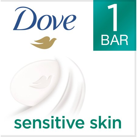 Cream Bear (Dove Beauty Moisturizing Cream Bar Soap For Sensitive Skin, Unscented - 3.15 Oz )