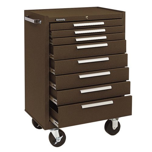 Kennedy 8 Drawer Roller Cabinet