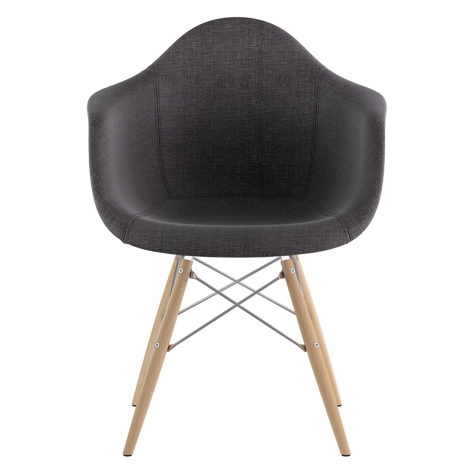 Nyekoncept Mid Century Dowel Dining Arm Chair - Walmart ...