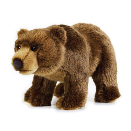 Lelly National Geographic Plush, Grizzly Bear](Grizzly Bear Mascot)