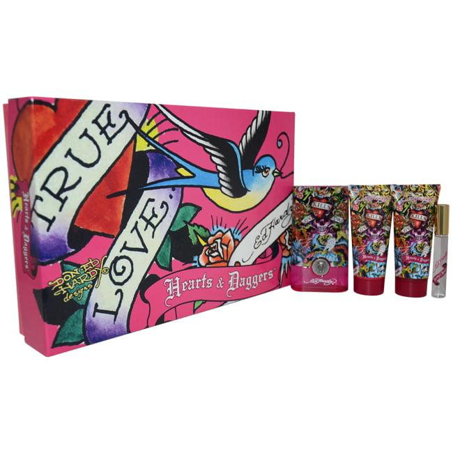 Celine Dion Ed Hardy Hearts & Daggers Women's 5-piece Gift Set