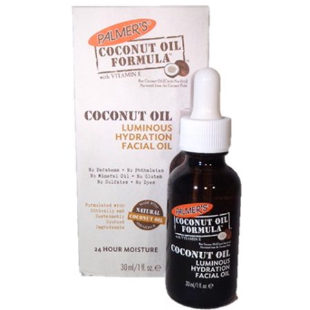 Palmer's Coconut Oil with Vitamin E Luminous Hydration Facial Oil, 1 (Home Facial Treatment)