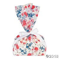 Nautical Baby Shower Cellophane Bags