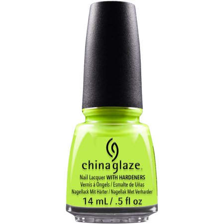 China Glaze Nail Lacquer with Hardeners, Celtic Sun, 0.5 fl oz