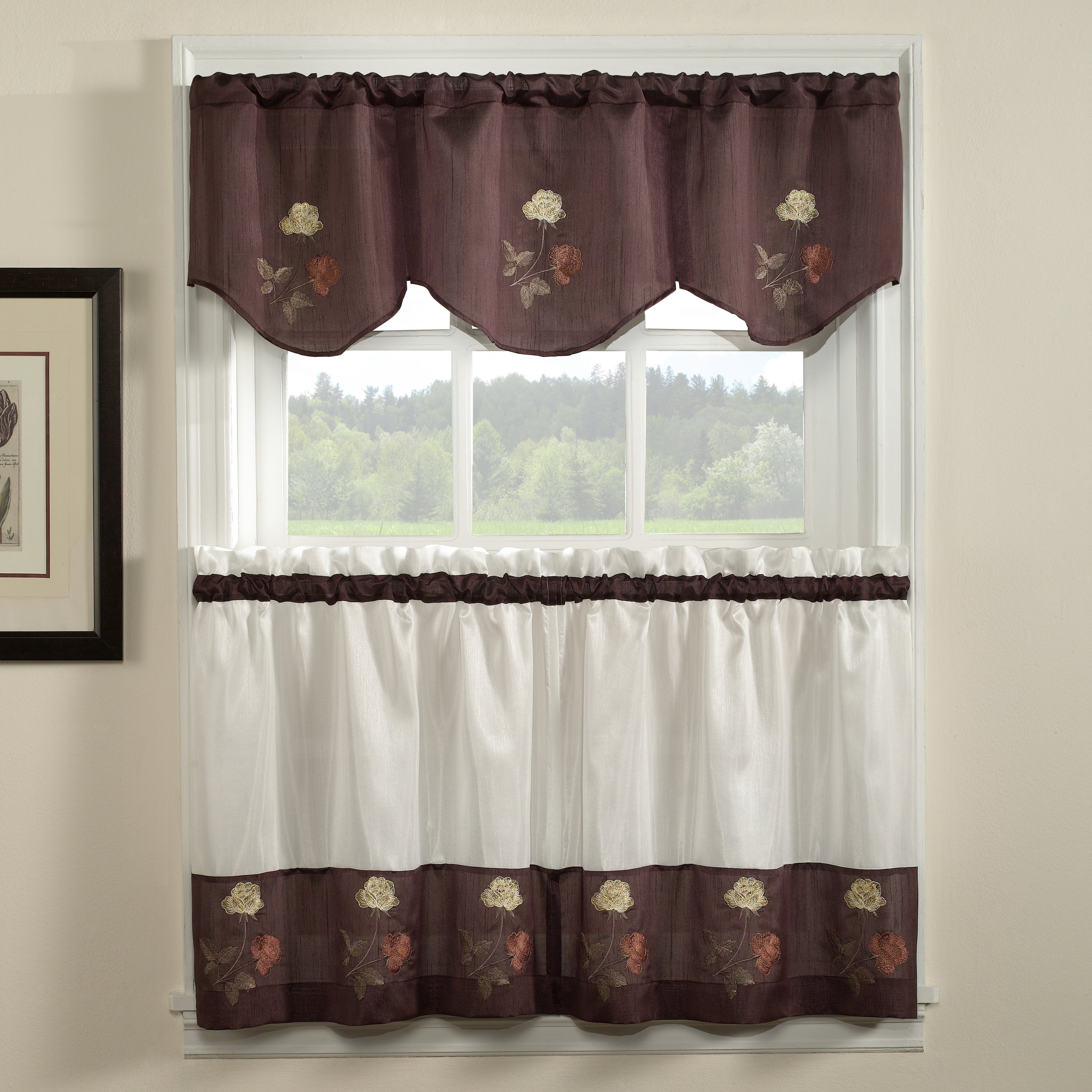 CHF Industries Rose Tailored Curtains