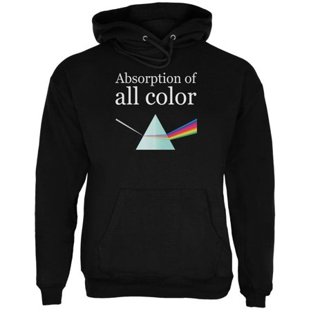 Halloween Science Absorption of Color Costume Mens Hoodie