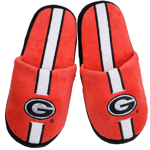 NCAA - Adults' Georgia Soft Slippers