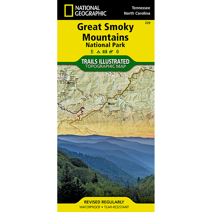 Great Smoky Mountains National Park (National Geographic Trails Illustrated Map) - National Geographic