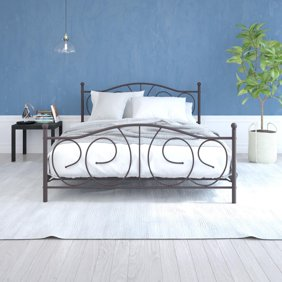 Ashley Cavallino Wood Queen Mansion Drawer Bed in Black
