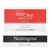 Neutrogena Benzoyl Peroxide Acne Spot Treatment Gel, 1 oz