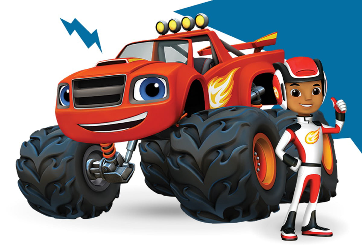 Blaze and the Monster Machines AJ Cake Topper Edible ...
