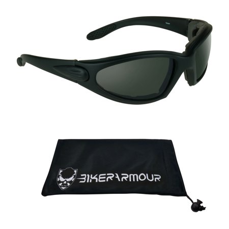 Motorcycle Riding Sun Glasses Foam Padded, Mens