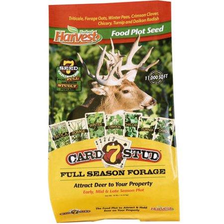 Evolved Harvest Card 7 Stud™ Full Season Forage Food Plot Seed, 10 lb.