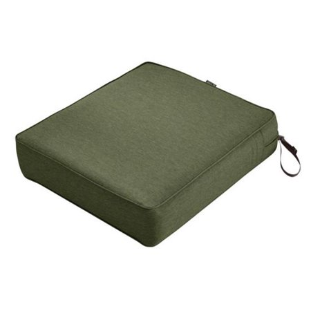 Montlake Rectangular Patio Lounge Seat Cushion, Heather Fern Green - 25 x 27 x 5 in. 5 X 135 Bolt Pattern