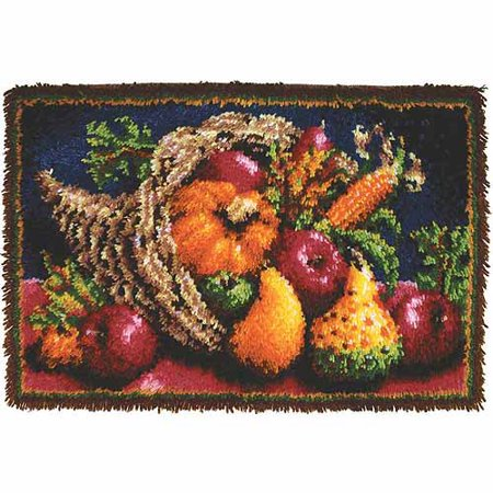 Caron Rug Kits - Caron Classics Latch-Hook Kit