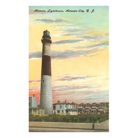 Absecon Lighthouse, Atlantic City, New Jersey Print Wall (Mall In Atlantic City New Jersey)