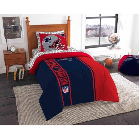 NFL New England Patriots Soft and Cozy Bedding Comforter Set