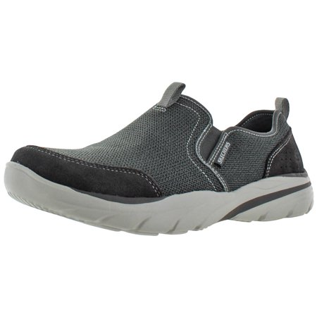 0c7153a3db63 Skechers - Skechers Relaxed Fit Corven Men s Slip On Shoes Memory Foam -  Walmart.com