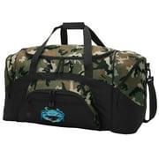 Blue Crab CAMO Duffel Bag