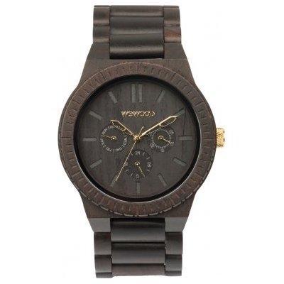 wewood kappa black/gold wooden watch