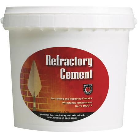 Meeco Mfg. Co. Inc. Gallon Refractory Cement 611