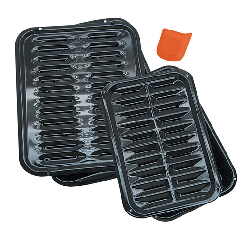 Range Kleen 5 Piece Heavy Duty Broiler Pan Set