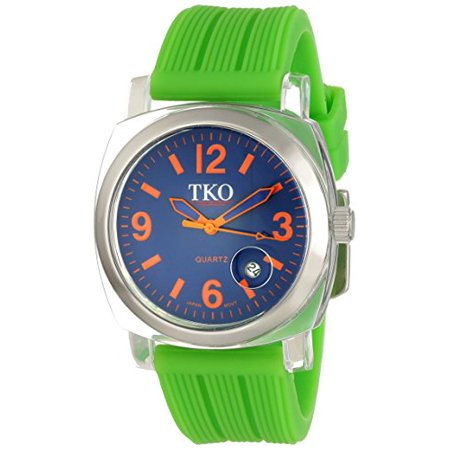 ORLOGI Women's TK558-OGR Milano Junior Acrylic Case Orange Dial Watch ()