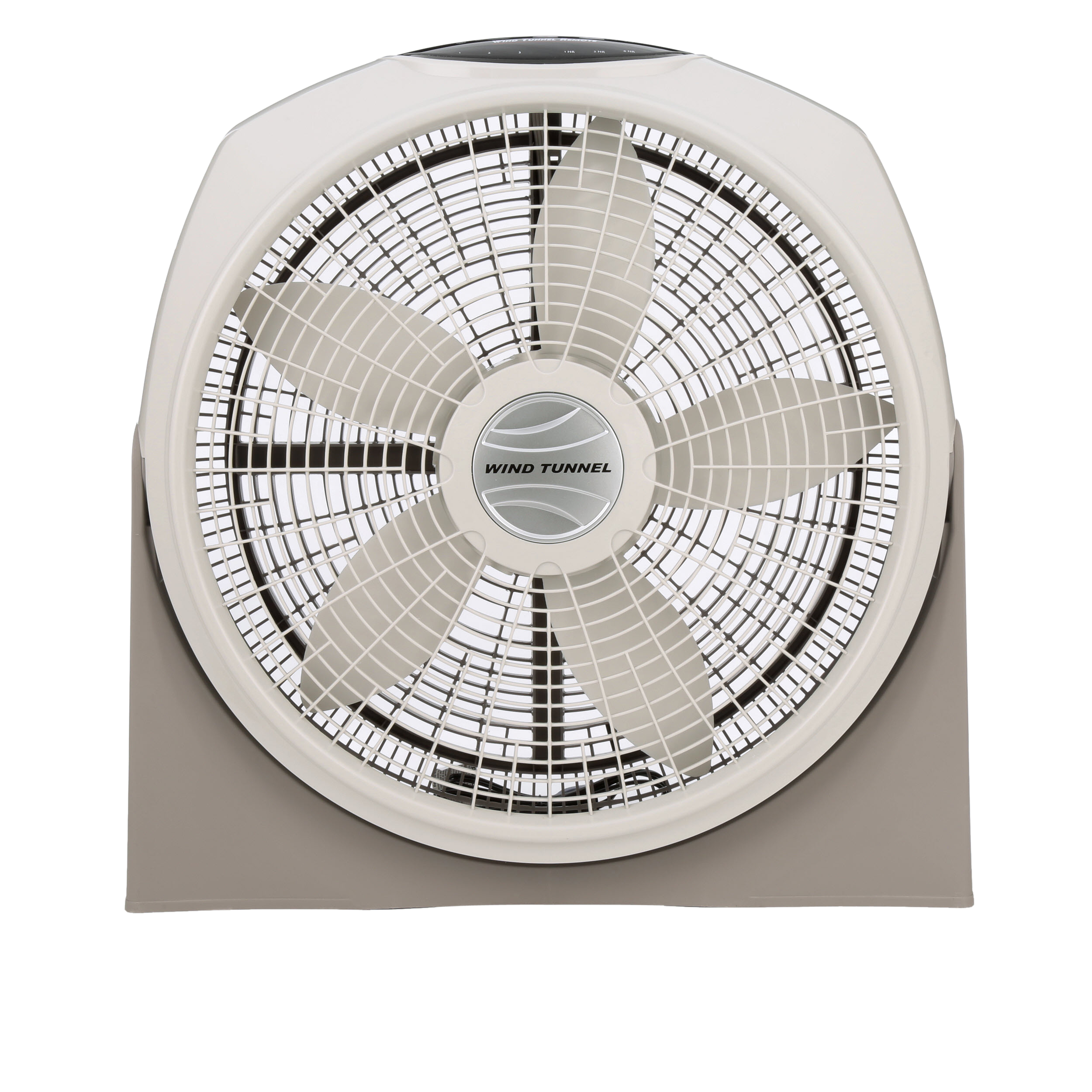 "Lasko 20"" Wind Tunnel 3-Speed Fan, Model #A20700, Gray with Remote"