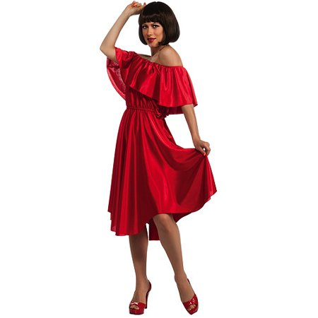Saturday Night Fever Red Dress Halloween Costume