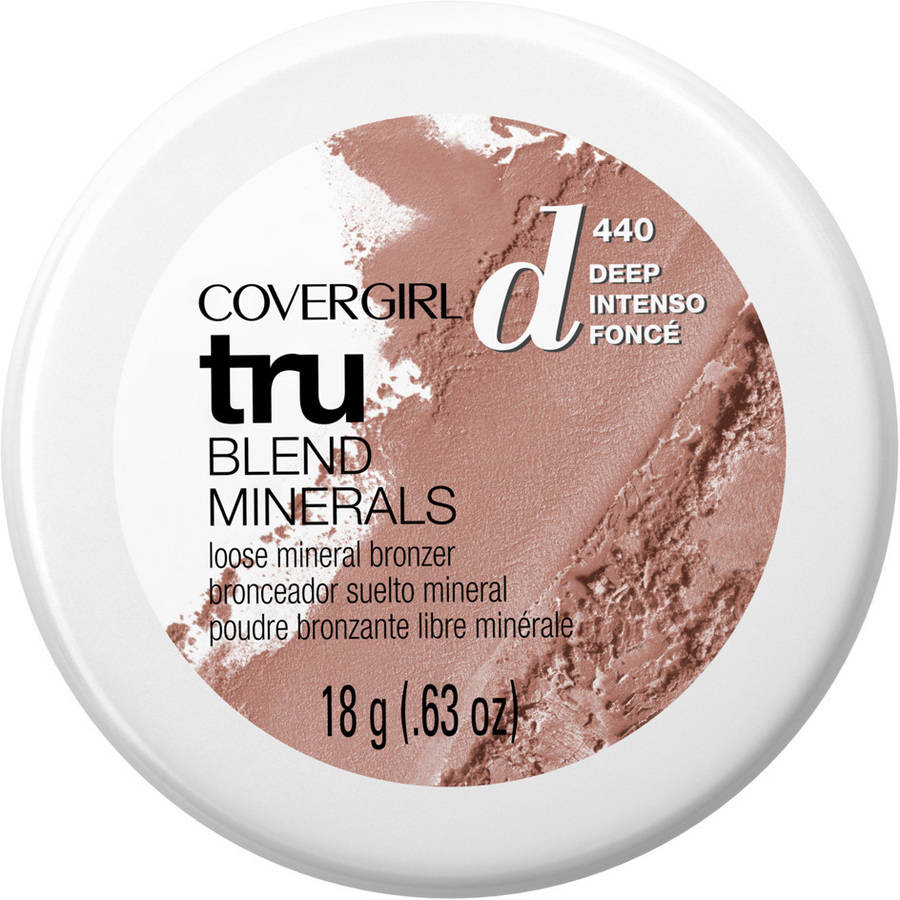 COVERGIRL truBLEND Minerals Loose Mineral Powder, 405 Deep, .63 oz
