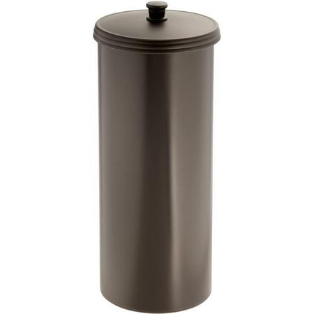Interdesign kent toilet paper holder canister - Interdesign toilet paper holder ...