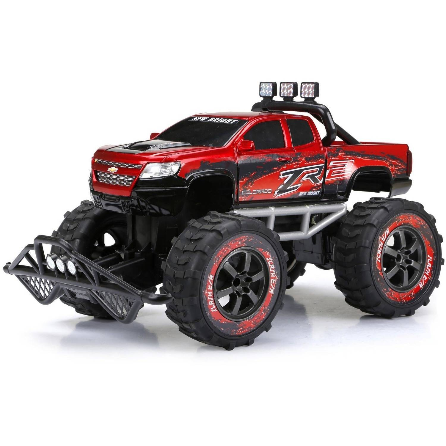 New Bright 1:10 R/C Full-Function 9.6V Colorado, Red