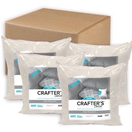 "Fairfield Crafter's Choice 20""x20"" Pillow (Pack of 4)"