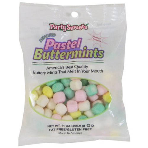 Pastel Buttermints, 88 count, 14 oz