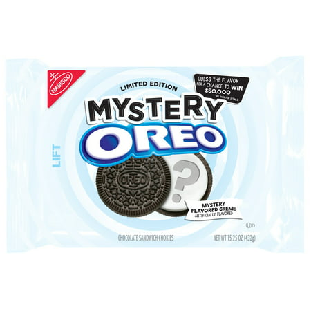 Nabisco Oreo Mystery Flavor Chocolate Sandwich Cookies, 15.25 Oz.