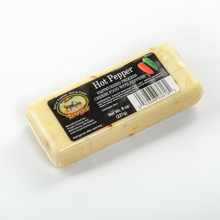 Pepper Jack Cheese - Hot Pepper Cheese 8oz 2pk