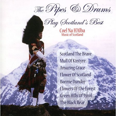 The Pipes and Drums Play Scotlands Best (CD)