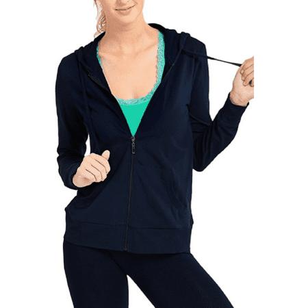 Basic Velour Hoodie (Daily Basic Womens Zip Up Hoodie Jacket)