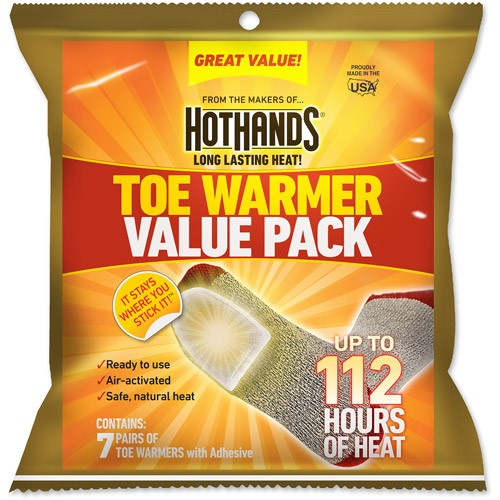 HotHands Toe Warmers, 7-Pair Value Pack