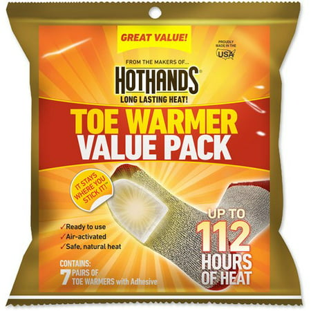 HotHands Toe Warmers, 7-Pair Value Pack ()