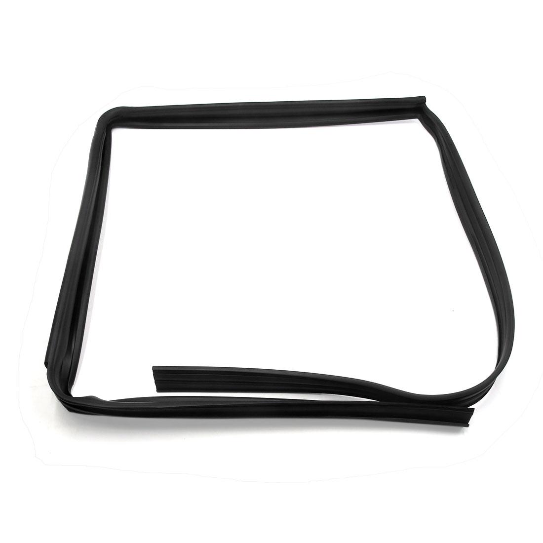 Rubber Black Car Right Rear Door Window Glass Run Channel