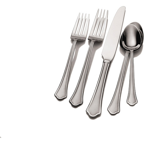 Chippendale Frost 53pc Flatware Set